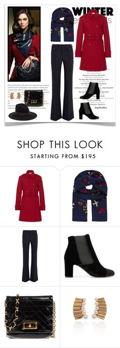 """""""Essentials"""" by angelicallxx ❤ liked on Polyvore featuring RED Valentino, Lenco, Tory Burch, Chloé, Tabitha Simmons, Lanvin, Oscar de la Renta and scarf"""