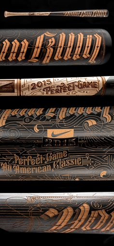Nike Home Run King Bat by Kevin Cantrell