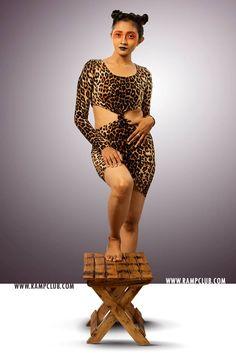 Ramp Club portraits #Women as a Tigress