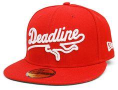DEADLINE x NEW ERA「Script Logo」59Fifty Fitted Baseball Cap