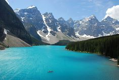 A Better Place for a Banff Canoe Ride (by NaturalLight)
