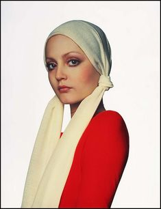 hoodoothatvoodoo:    Ingrid Boulting, Red Jumper 1974, photo by Gian Paolo Barbieri