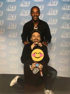 Sebastian Stan and Mackie   Ace Comic Con, Jan 2018