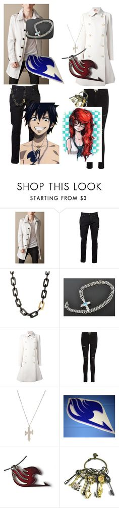 """Twinning it!"" by otakukawaii25 ❤ liked on Polyvore featuring Burberry, Nudie Jeans Co., Ted Baker, N°21, Frame and Hot Topic"