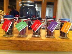 Chocolate buttons :) # festive gift idea