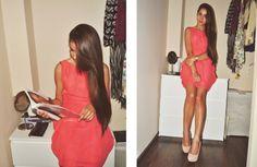 Sukienka Szyfonowa Tulipan Dresstination - Dresstination