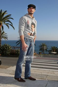 David Gandy attends the fourth evening of the 59th San Remo Song Festival at Ariston Theatre on February 20, 2009 in San Remo, Italy. (Photo by Venturelli/WireImage)