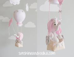 Hey, I found this really awesome Etsy listing at https://www.etsy.com/listing/261973583/elephant-baby-mobile-pink-and-gray