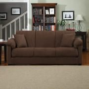 Montero Microfiber Convert-A-Couch Sofa Bed, Multiple Colors