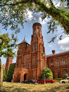Smithsonian Institute, Washington, D.C. I saw this building when I was 11 and fell in love instantly.