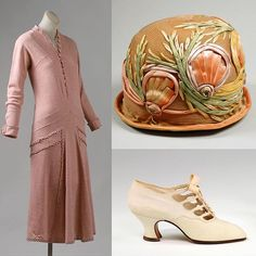Art of the Dress   @metcostumeinstitute's 1924 #Chanel day dress was the perfect pairing for the floral cloche from @lacma. The outfit is completed with a pair of #PietroYantorny pumps, 1925-1930, also from the Met! #theartofdress #fashionisart #fashionhistory #fashionhistoryisfun #fashion #hautecouture #CocoChanel