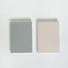 Notebook grey-white - selected