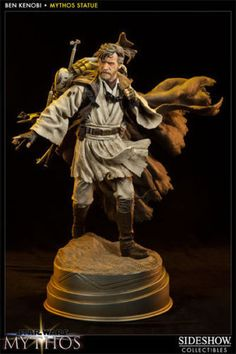 Sideshow Obi-Wan Ben Kenobi Mythos Statue Figure in Collectibles, Science Fiction & Horror, Star Wars | eBay