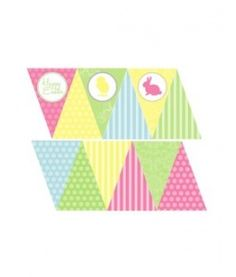 Easter Mini Bunting Banner
