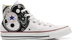 Converse All Star personalisierte Schuhe - HANDMADE SHOES - Hurricane - TG42 Mys