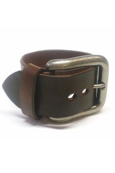DIY old belts to a cuff