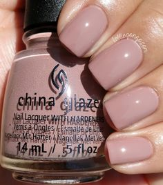 Did you know about China Glaze? You may have beautiful nail with China Glaze. Also taking great care of our private hygiene is a style of taking excellent care of our wellness and our relation to o… Shellac Nails, Manicure And Pedicure, Diy Nails, Pedicures, Nail Nail, Mani Pedi, China Nails, China Glaze Nail Polish, Sns Nails Colors