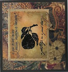 Handmade card using Dove of the East Japan Journey paper by @Frankie