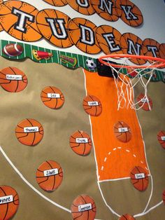 I love decorating my classroom each year! I am excited to share my new sports themed classroom with you! Most of the printables that ...