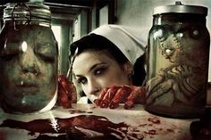 bloody nurse | Horror/Disturbing/Twisted Dark Shit | Pinterest ...