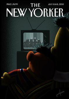 la cuisine du graphiste: Le mariage gay par le New Yorker