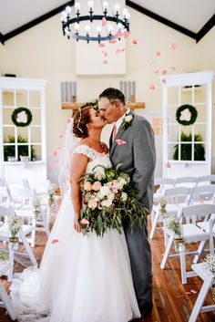 Beautiful wedding inside of Forest Hill Park's Chapel. Photography by Magpie and Rye Photography Forest Hill Park, Magpie, Rye, See Photo, Weddings, Wedding Dresses, Pictures, Photography, Beautiful