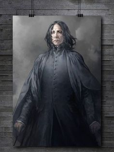 harry potter, art, and severus snape image