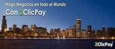 2ClicPay, plataforma de pagos - Cuenta Offshore en Europa