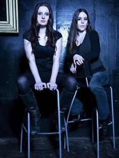 Anna Murphy + Meri Tadic-Switzerland's Eluveitie are an unmistakable band that have brought their unique folk/melodic death metal to metalheads looking to party since 2002. What makes this band so unmistakable are the contributions of Anna Murphy on the hurdy gurdy and Meri Tadic on the fiddle.