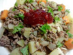Edel's Mat & Vin : Elghakk ! Malta, Cobb Salad, Beef, Food, Wine, Meat, Malt Beer, Meal, Essen