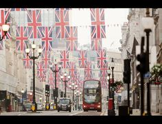 London - all dressed up for the Jubilee!