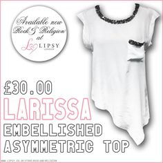 We do know how to treat you! The #PERFECT #Summer top, LARISSA, is available now at @Lipsy London - treat yourself this #weekend  Get it here: http://www.lipsy.co.uk/store/rock-and-religion/rock-religion-larissa-asymmetric-top/product-is-BR01276_001