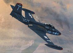 McDonnell F2H-2 Banshee (Jerry Boucher)