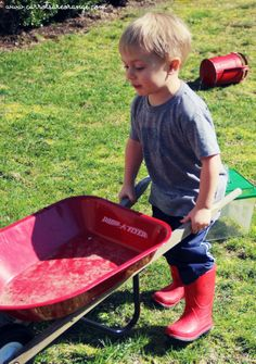 A great list of gardening activities to do with kids!