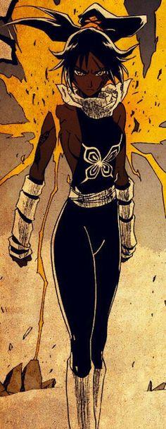 A deusa relanpago