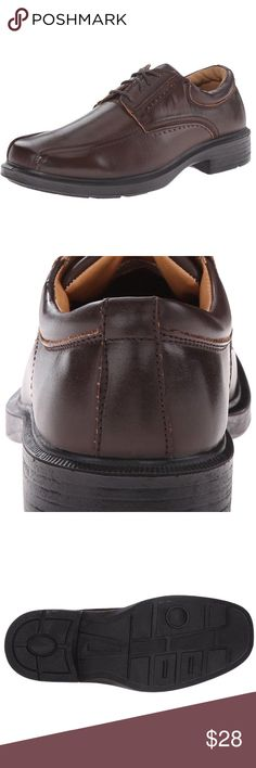 Deer Stags Oxford Williamsburg Shoe Deer Stags Men\u0027s Williamsburg Oxford,  Dark Brown, 8 M