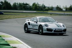 A day at the test track @ Porsche Leipzig! Testing all the new models of Porsche, great to test them on track!