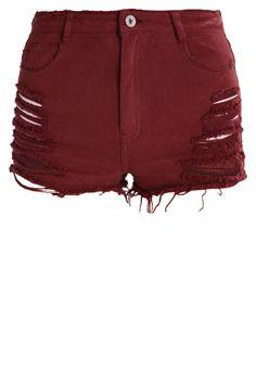 Missguided Jeans Shorts - rum raisen für 18,45 € (05.01.18) versandkostenfrei bei Zalando bestellen.
