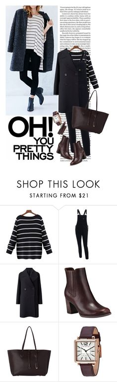 """""""StreetStyle"""" by reginakos ❤ liked on Polyvore featuring Jigsaw, Timberland, Whistles, Marc Jacobs, overalls, burgundy and chelseaboots"""