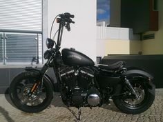 pics of harley davidson iron 883 with ape hangers | 2012 Bobbed Iron 883 from Portugal - Harley Davidson Forums