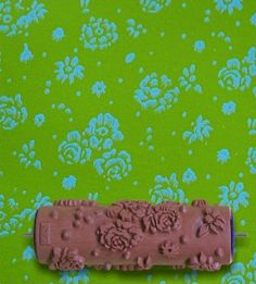 Patterned Paint Roller G19 by ShengDesign on Etsy, $19.99