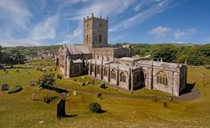Pembrokeshire, Wales // St. David's Cathedral.
