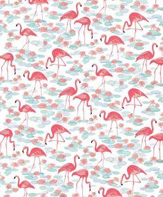 Vintage Flamingos on Behance