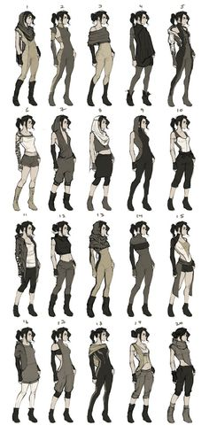 44 New Ideas For Drawing Clothes Outfits Character Design Source by clothes ideas design reference Character Creation, Character Concept, Character Art, Concept Art, Character Reference, Character Poses, Poses References, Drawing Clothes, Outfit Drawings