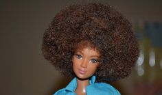 I love this. I read it a few weeks ago and I have been meaning to post it here … Barbie's getting an afro for Christmas! A natural..