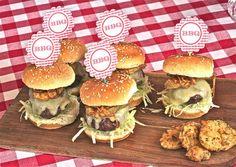 Smoky Burger Sliders with Fried Pickles - The Hopeless Housewife®