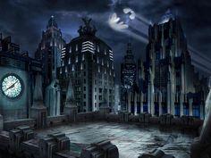 Images For > Lego Gotham City Background