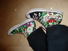 comics on your shoes