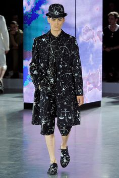 John Galliano Spring 2013 Menswear Collection, Remeniscent to a Ditto Suit thwat was worn during the first half of the 18th century