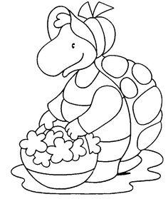 Disegni da colorare per bambini. Colorare e stampa Animali 28